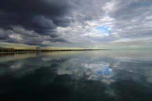 Reflective Port Phillip Bay